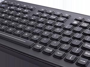 Keyboard Closeup NXGEN